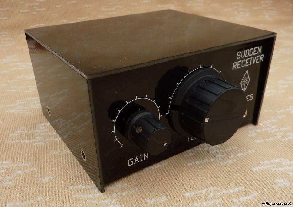 Простой приёмник прямого преобразования на 40 метровый диапазон на микросхемах NE612 (SA602) и LM386.
