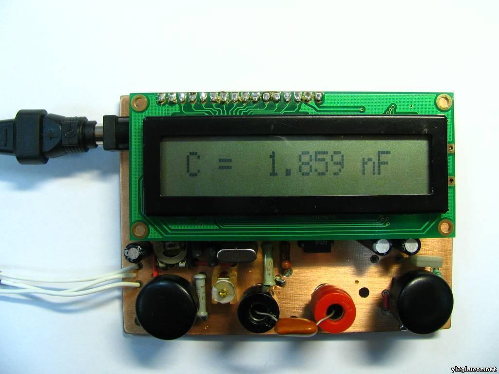 Самодельный lc метр на pic16f84a