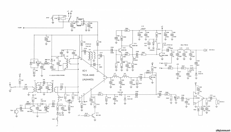 схемы простых SSB трансиверов