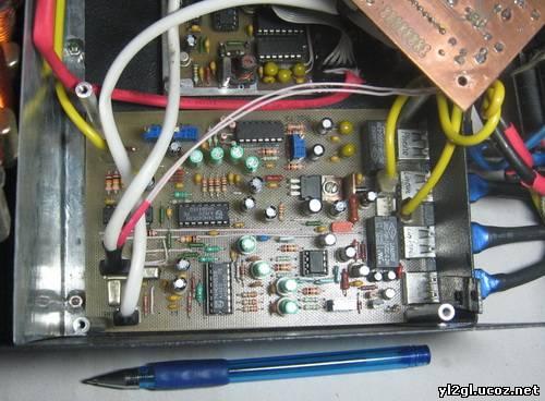 UT3MK ЮРИЙ.  Предлагаю вашему вниманию один из вариантов трансивера ADTR и немного измененной схемой и печаткой.