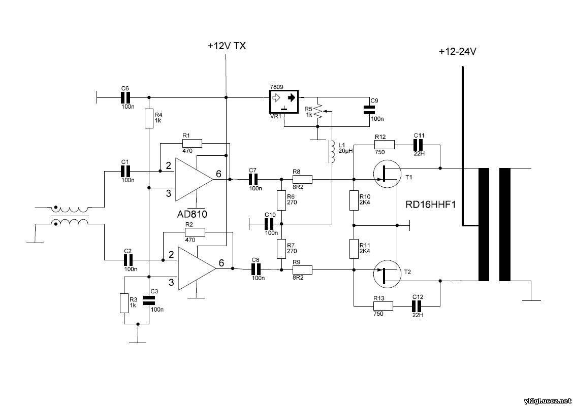 PA на транзисторах серии IRF.