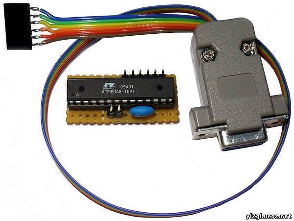 Siz USB программатор AVRdan
