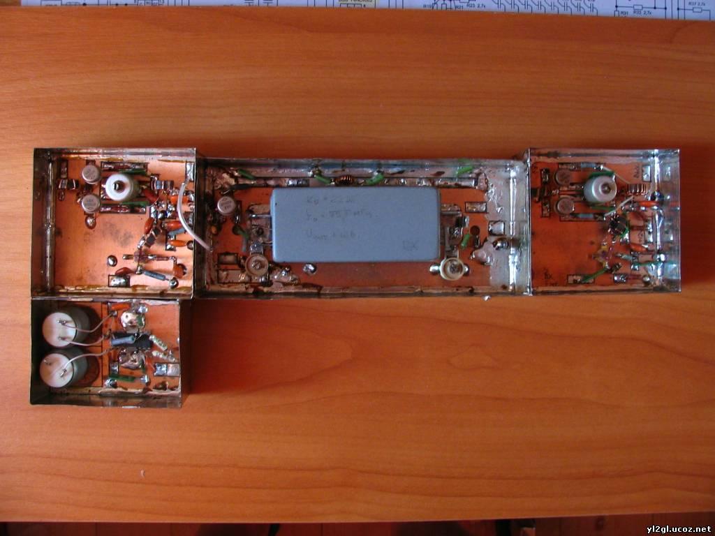 """Электронный ключ с памятью по схеме Кургина на ТТЛ микросхемах(в своё время схема публиковалась в журнале  """"Радио """") ."""