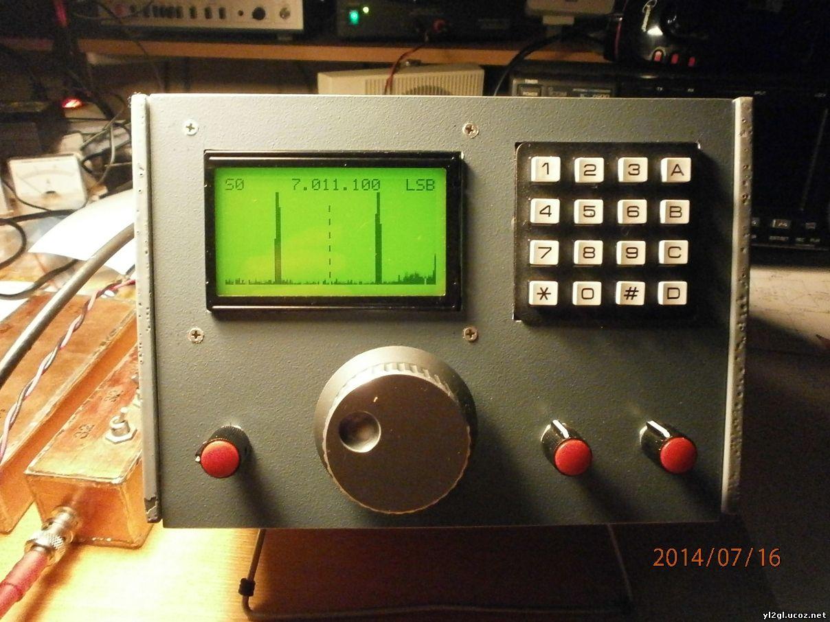 схема генератора тестового сигнала с флеш картой