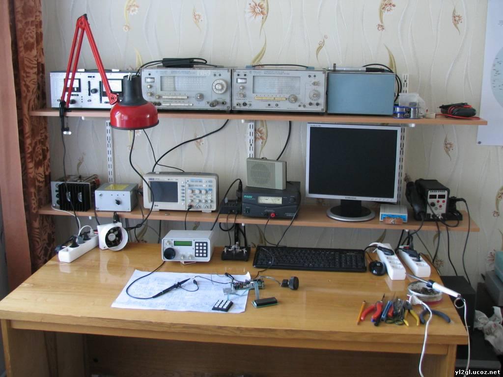 YL2GL: Моя домашняя лаборатория